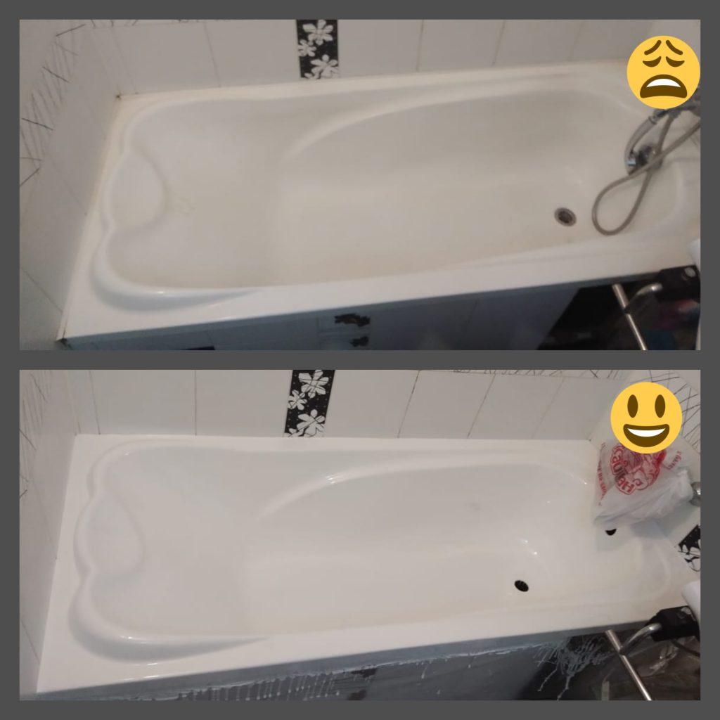 Реставрация акриловых ванн