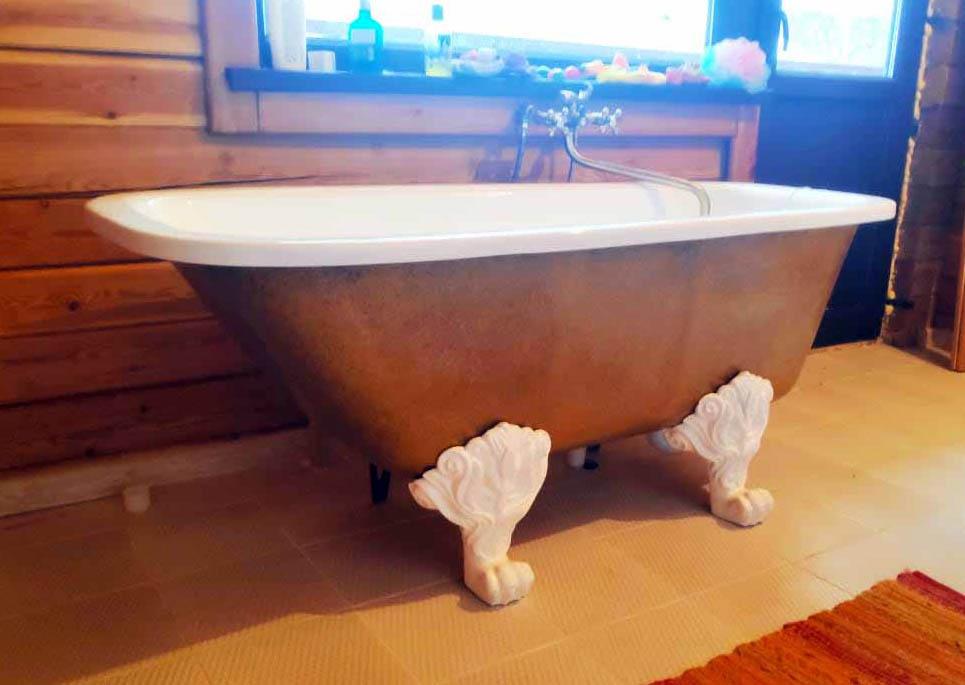 Ножки под ванну львиные лапы