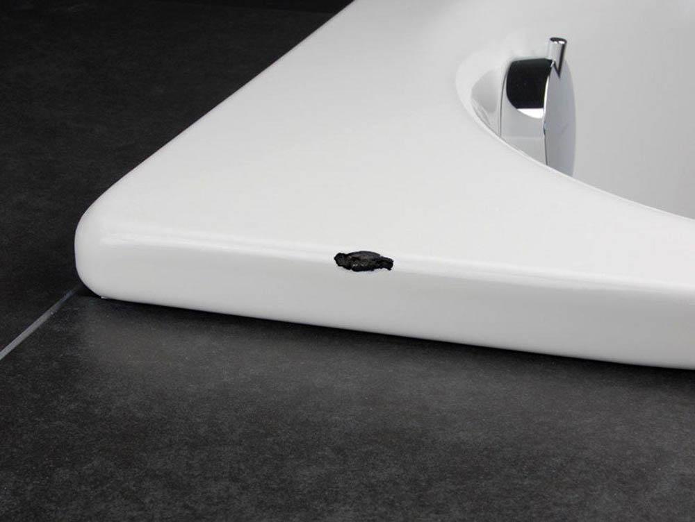Ремонт сколов и трещин на раковине и ванне