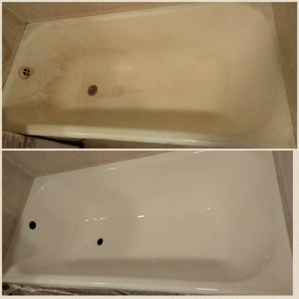 Реставрация чугунных ванн