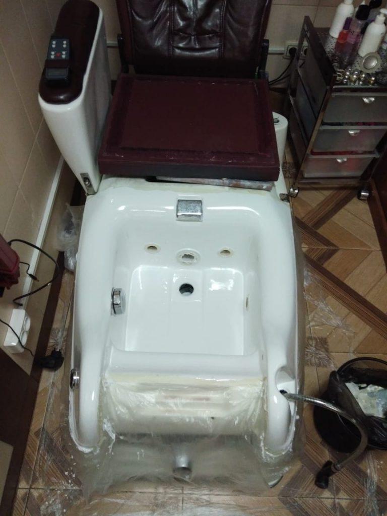 Реставрация педикюрного кресла